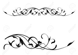 Black Scroll Design Clip Art 2183 Scroll Free Clipart 21