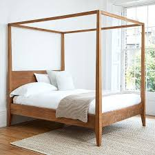 Diy Canopy Bed Frame Four Poster Bed Frame Four Poster Bed Diy Twin ...