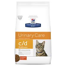 <b>Hills Prescription Diet</b> C/D <b>Multicare</b> Cat - Chicken (Dry Food) – VetEnt