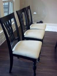 set of 4 chairs 65 nw wichita excellent condition 4 black chairs with a touch of dk bronze in them see attached pictures smoke free home