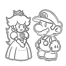 Small Picture Super Mario Coloring Books at Coloring Book Online