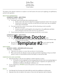 doctor resumes resume and cover letter templates for resume doctor