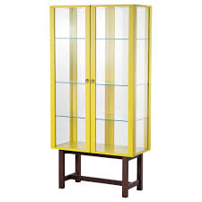 Glass Door Cabinet Stockholm Glass Door Cabinet Beige Ikea