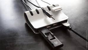 Cordies+ Cable Mamagement System with USB Hub