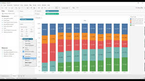 Sort Colours In Stacked Bar Chart Sorting Steps Only Youtube