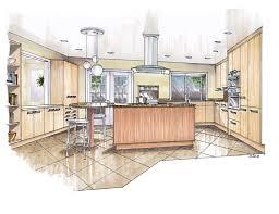 interior design sketches kitchen. Architecture Design Interior Sketches Kitchen E