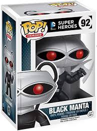 <b>Funko Pop</b>: DC Comics: Super Heroes - <b>Black Manta</b> Figure + ...