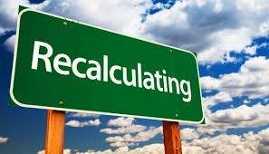 Image result for recalculating
