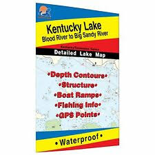 Kentucky Fishing Charts Maps For Sale Ebay