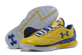 under armour basketball shoes stephen curry white. mens under armour ua stephen curry one low yellow royal blue white basketball shoes sneakers