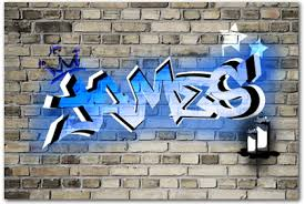 graffiti boys canvas print on baby canvas wall art with boys bedroom canvas wall art prints any name as graffiti art