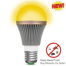 Yellow Light Bulbs Repel Bugs Mosquito Repellent Light Bulb Auko Bugs Zapper Spider Insect Pest Repel Control Yellow Led Lamp For Indoor Outdoor Garden Patio Yard 2 Years Warranty