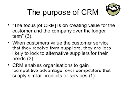 Sample Essay about Definition of customer relation