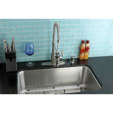 Undermount Stainless Steel 30 Inch Single Bowl Kitchen Sink And