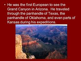 「the Spanish explorer Coronado became the first Europeans to discover the canyon」の画像検索結果