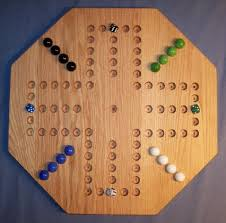 Wooden Board Game With Marbles Wooden Game Boards Wooden Marble Game Board Aggravation 100 21