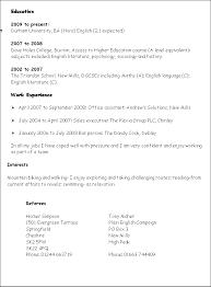 Key Skills To Put On A Cv Job Resume Example