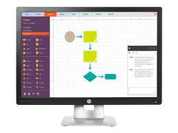 Hp Display And Notebook Ii Stand M100P100ATABU HP EliteDisplay E100 LED monitor 100 Currys PC 78