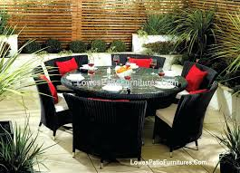 outdoor patio dining table fantastic large round patio dining sets outdoor table lovely furniture clearance intended for