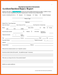 Child Care Incident Report Example 041 Template Ideas Construction Accident Report Form