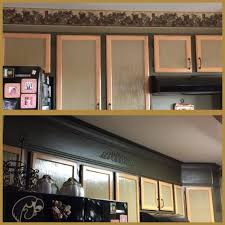 Update The Space Above Kitchen Cabinets My Perpetual Project
