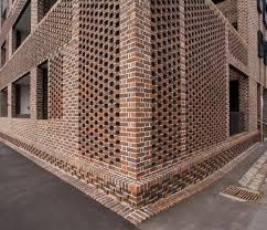 Perforated Brick Wall Design Gipps Street Dan Rob C Roger Du Buisson Www Bontool Com