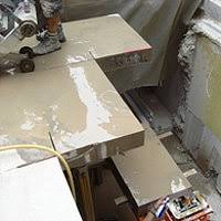Bei einem rechteckigen deckendurchbruch werden in den ecken des durchbruchs kernbohrungen gesetzt, damit keine überschnitte gemacht werden müssen. Deckendurchbruch Schnell Professionell