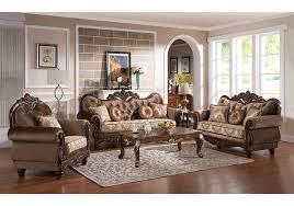 Carmen Wood Trim Loveseat Badcock Home Furniture & More of South