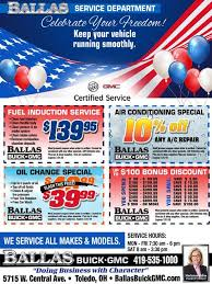 Service Advertisement Ballas Buick Gmc Is A Toledo Buick Gmc Dealer And A New Car And