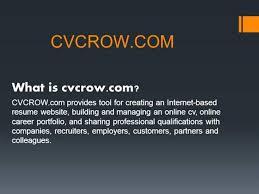 Create Your Unique Professional Resume Cv Online Cvcrow Com