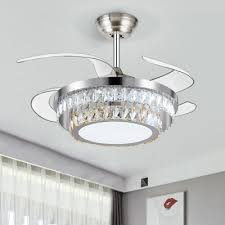 modern circular ceiling fan light cut