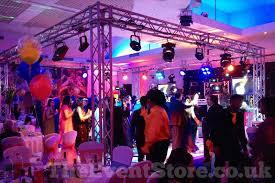 dancefloor lighting cube hire