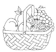 Fruit And Vegetable Coloring Pages Free Printable Garden 28 Scihostco