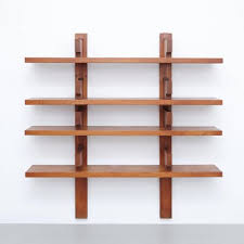 wall mounted book shelves by pierre