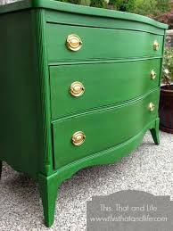 green colored furniture. Dresser Painted With Clover Green By Benjamin Moore I Wake A Piece Colored Furniture