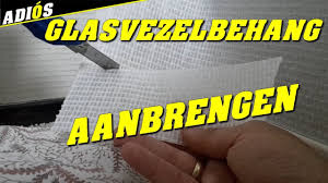 Glasvezelbehang Aanbrengen How To Apply Fiberglass Wallpaper Youtube