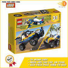 Bộ đồ chơi lắp ráp sáng tạo xe vượt địa hình 3in1 Lego Creator 31087 - Tốc  độ 247