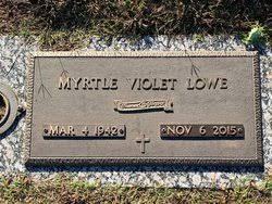 Myrtle Violet Lowe (1942-2015) - Find A Grave Memorial