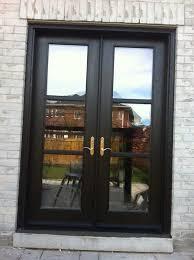 8 foot fiberglass doors french door installed in