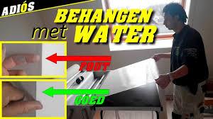 Glasweefselbehang Aanbrengen Met Waterbak Systexx Bij Vitrulan V22