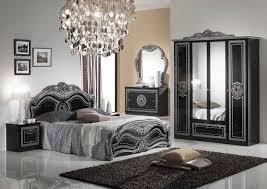 Barock Schlafzimmer Schwarz Silber Lusinda 4 Teilig Ebay