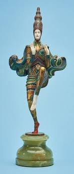 As the show draws to a close, discover the artworks and moments that made it exemplary. A Rare Art Deco Bronze And Ivory Figure Of A Dancer Gerda Ido Figures Groups Sculpture Statuary
