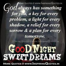 Inspirational Good Night Quotes Adorable Inspirational Good Night Images God Always Has Something For You