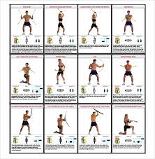 Sample Exercise Chart 6 Documents In Pdf