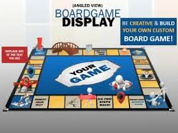 Board Game Display A Powerpoint Template From Presentermedia Com