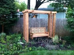 outdoor wood swing stands wooden garden canopy replacement