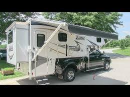 2013 Lance 1172 slide-in truck camper walk-around tutorial video ...
