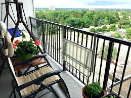 balcony railing table diy