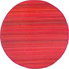 cancun indoor outdoor sunset 8 ft round area rug