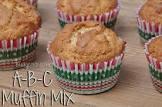 a b c muffin base mix